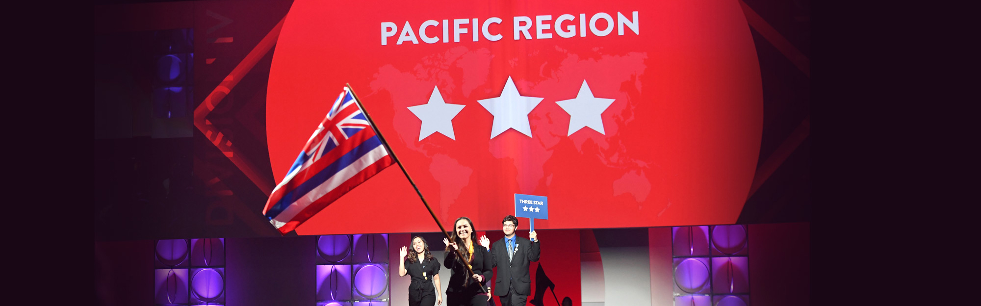 picture of the Pacific region at convention